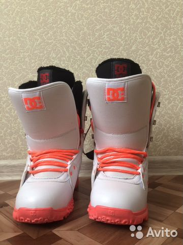 46d2269e8fb9 Женские ботинки для сноуборда DC karma, 36 размер купить в Москве на ...
