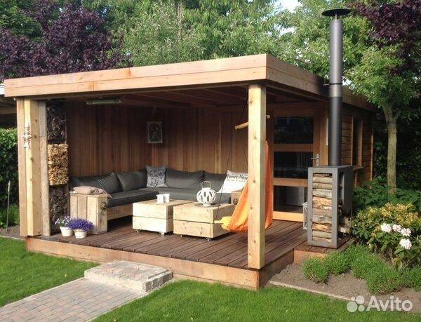 Дачные дома беседки веранды бани садовая мебель 89054130303 купить 5