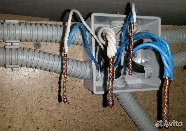 Электрик, электромонтажные работы 89205884313 купить 4
