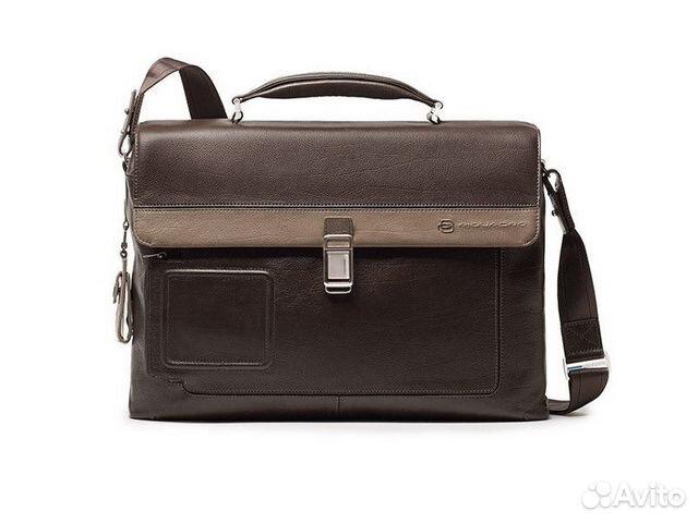 2e48e3ebd8ea Портфель Piquadro CA1045VI, коричневый с серым купить в Москве на ...