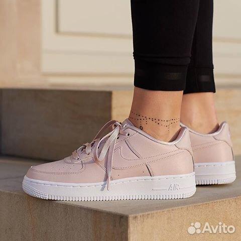 c6904754 Nike Air Force Low 1 Бежевые (36-40) купить в Москве на Avito ...