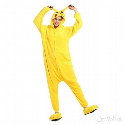 Пижама Кигуруми Пикачу  ef62b58f2fa0c