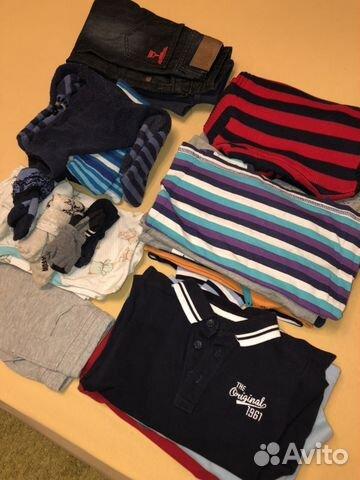 b2a7580e6 Детские вещи пакетом на мальчика 104 размер купить в Москве на Avito ...