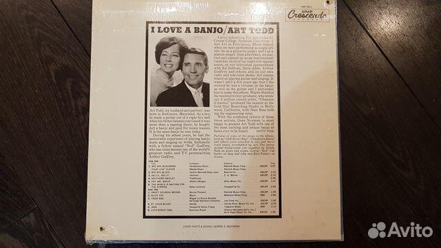 Banjo, Art Todd, Sealed, USA, Jazz 89185565096 купить 2