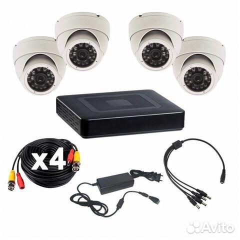 Комплект видеонаблюдения на 4 камеры 89173560600 купить 5