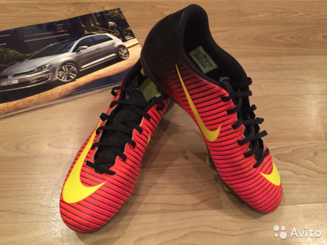 cb8f4bc6 Яркие бутсы шиповки Nike Mercurial Vortex купить в Москве на Avito ...