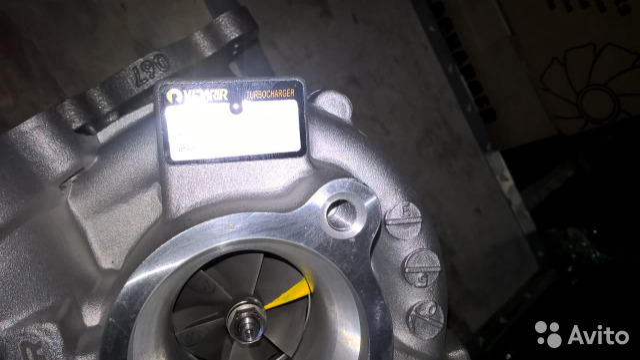 Турбина 1VD-FTV VB22 (правая) Toyota Land Cruiser  купить 2