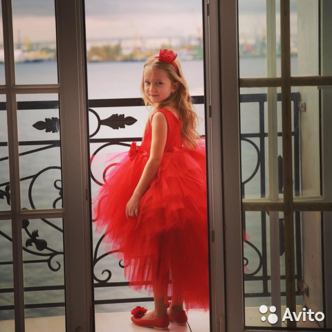 3a1fdffbb56f465 Нарядные пышные детские платья в пол. арт 4741 | Festima.Ru ...