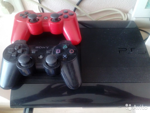 Sony PS3 slim 500 гб