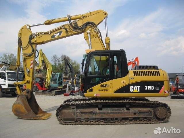 97e470e8e Услуги - Аренда экскаватора caterpillar 319 в Московской области ...
