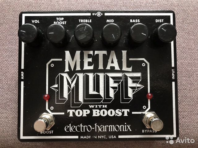 Гитарная педаль Electro-Harmonix Metal Muff