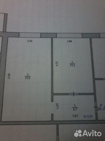 Комната 36.7 м² в 2-к, 1/5 эт. 89145800951 купить 1