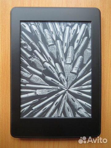89025069832 Amazon Kindle Paperwhite 3 + чехол (с подсветкой)