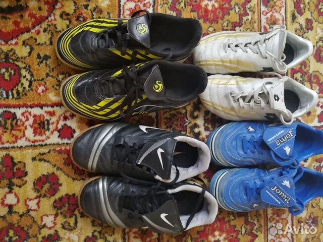 Обувь футбол. р-ры: 34,35,36 89122435512 купить 1