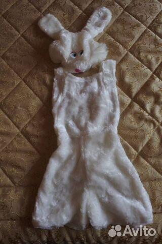 Костюм зайца р.110 (2-4 года)  89616848492 купить 1