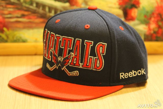 Кепка бейсболка snapback NHL Washington Capitals— фотография №1