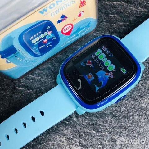 84942303606 Часы детские Smart Baby Watch Tiroki GW400s (DF25)