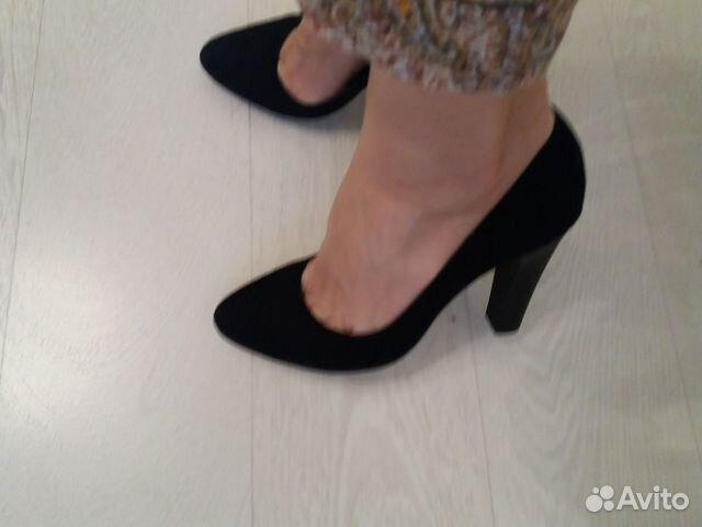 Туфли новые натуральная замша 89027802361 купить 5