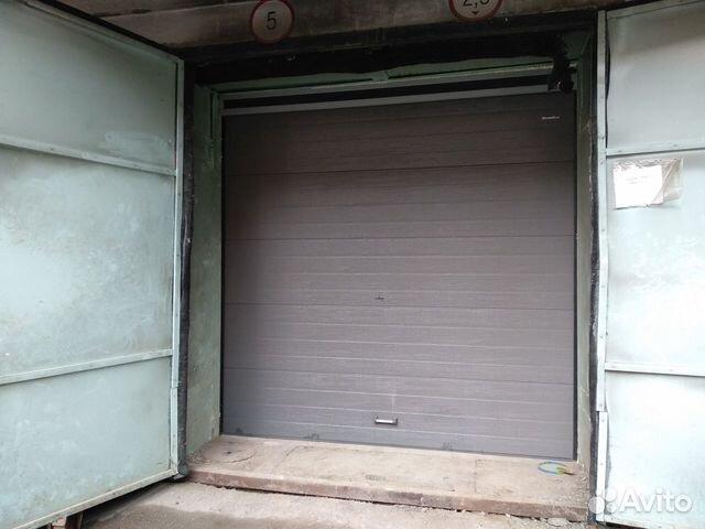 Ворота секционные на гараж 89087774297 купить 2