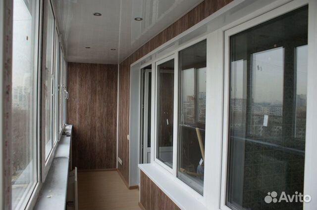 Остекление балконов, лоджии 89874915331 купить 6