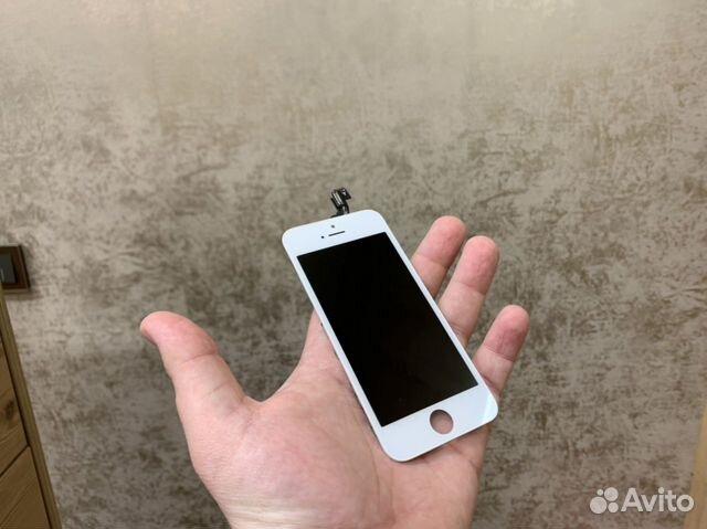 Экран iPhone 5s Белый 89002501001 купить 1