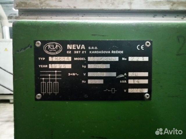 Neva TR-88A 150/200 рамный многопильный делитель купить 6