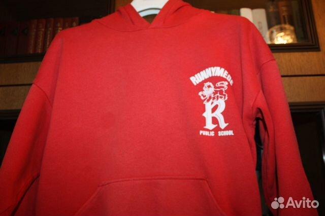 379072fb Красная толстовка с капюшоном (худи) из Канады купить в Москве на ...