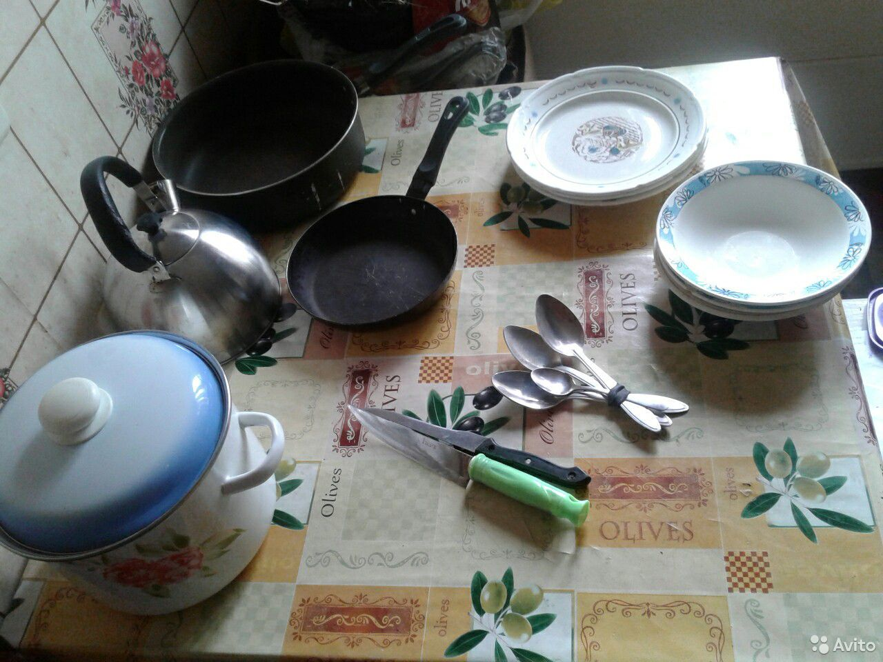Посуда б/у  89042016863 купить 4