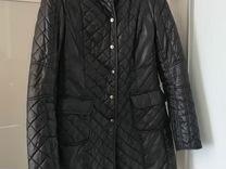 Стеганное пальто zara