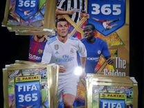 Panini fifa 365 150 пакетов + новый альбом