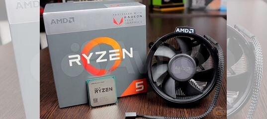 Ryzen 5 2400G BOX купить в Республике Карелия с доставкой | Бытовая электроника | Авито
