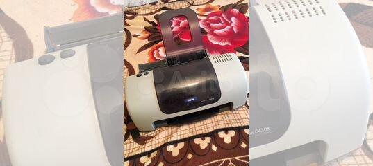 Цветной принтер epson B161B купить в Красноярском крае | Бытовая электроника | Авито