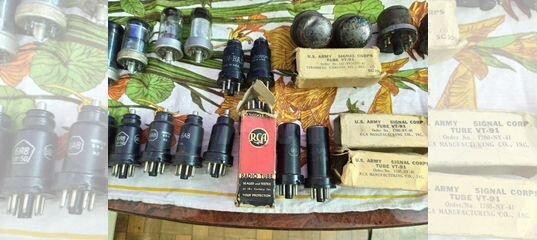 Радиолампы U.S.A 40-50 годов купить в Воронежской области с доставкой   Хобби и отдых   Авито