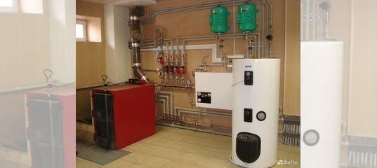 Отопление частного дома под ключ. Система отопления под ключ