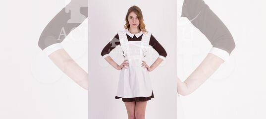 Коричневое платье и белый фартук, 14-449к купить в Москве на Avito —  Объявления на сайте Авито 5864ad251d3