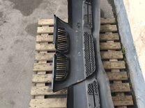 Бампер передний бмв е90 е91 в сборе чёрный