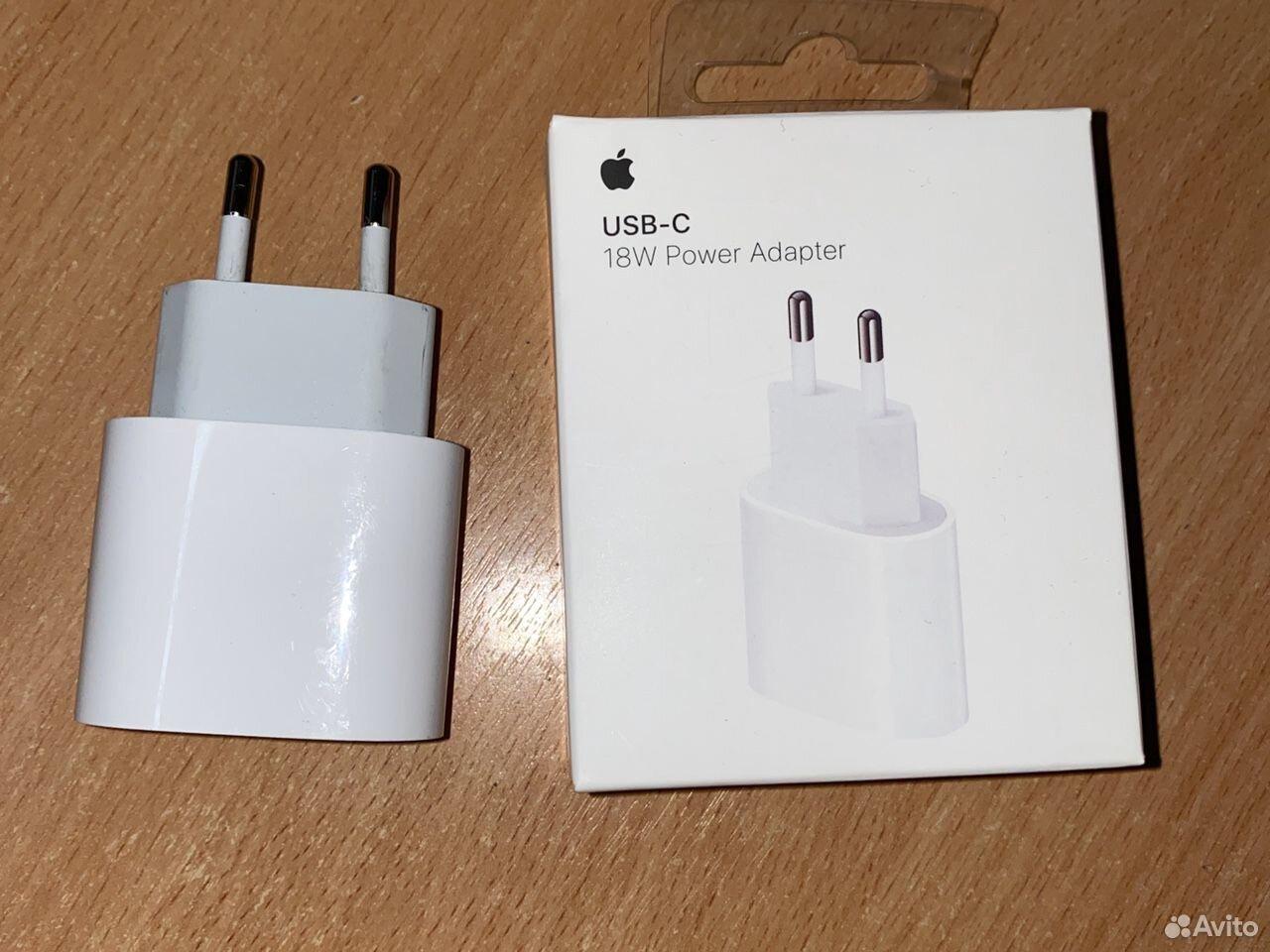 Блочок зарядки 18w power Adapter USB-C