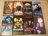 Видеокассеты с фильмами и клипами