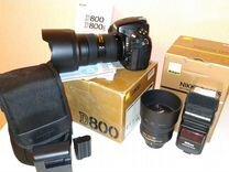 Фототехника nikon D800 + объективы