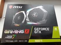 Видеокарта MSI Gaming X GTX 1660ti 6gb