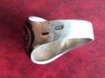 Кольцо серебро чернь СССР (Кубачи)