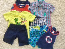 Вещи на мальчика, пакетом, размер 104-110