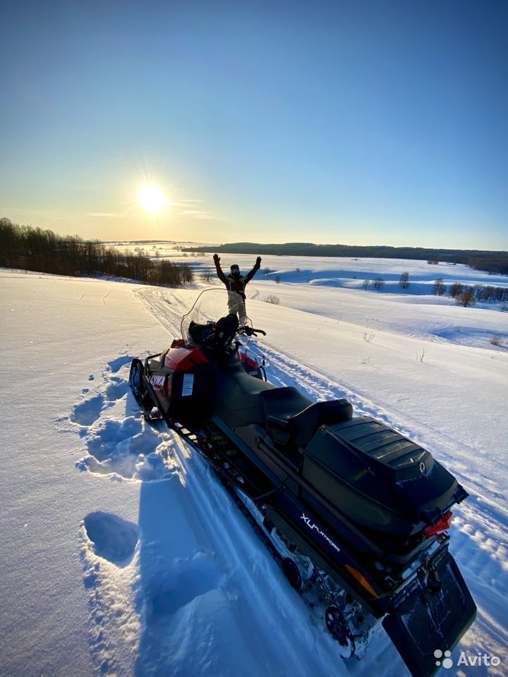 Снегоход Brp Lynx Yeti 600 Ace