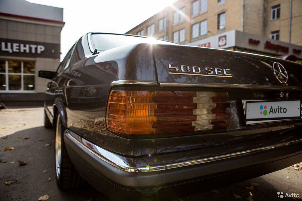 Mercedes-Benz S-класс, 1986  89600905830 купить 2