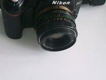 Продвинутый фотоаппарат Nikon d-90 + объектив
