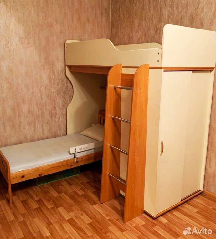 Кровать двухьярусная  89773876617 купить 1