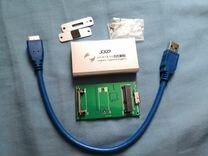 Внешний кейс для накопителя SSD msata, USB 3.0