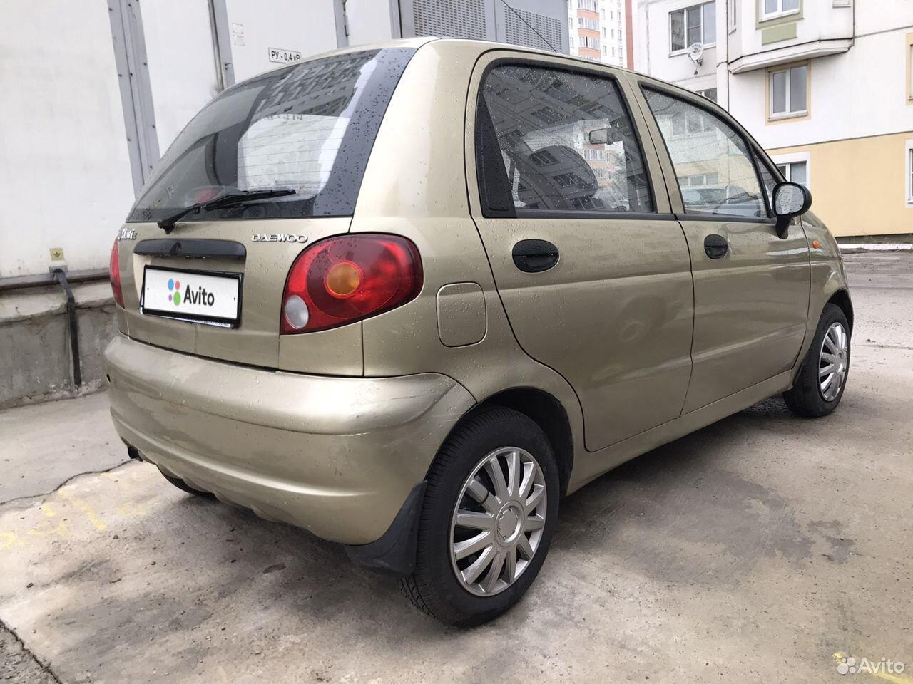 Daewoo Matiz, 2008  89066903227 купить 4