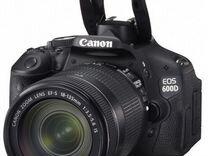 Canon EOS 600D Kit 18-135 IS Black