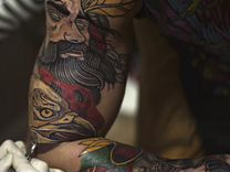 Подарочный купо на сеанс татуировки арт подарок